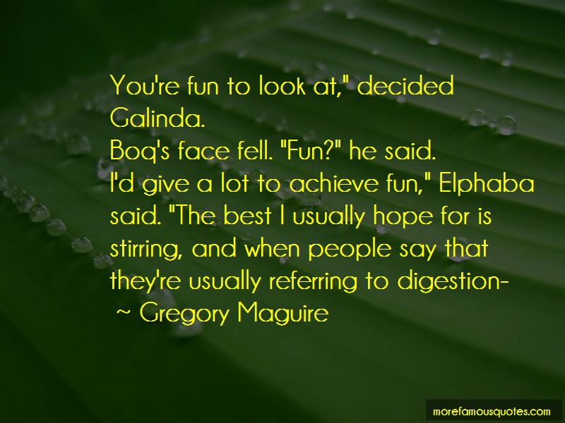 Quotes About Elphaba