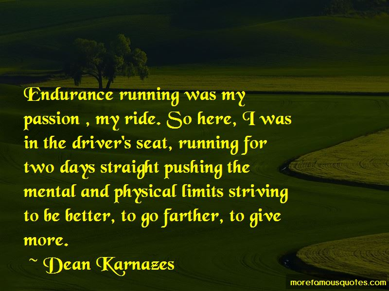 Quotes About Endurance Running