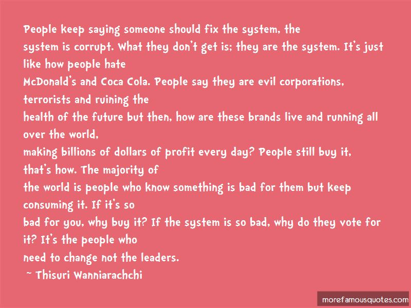 Quotes About Evil Corporations