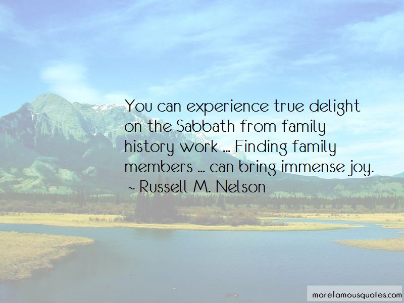 Quotes About Family History Work