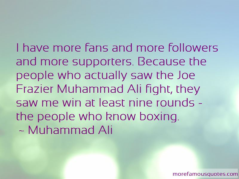 Quotes About Fans