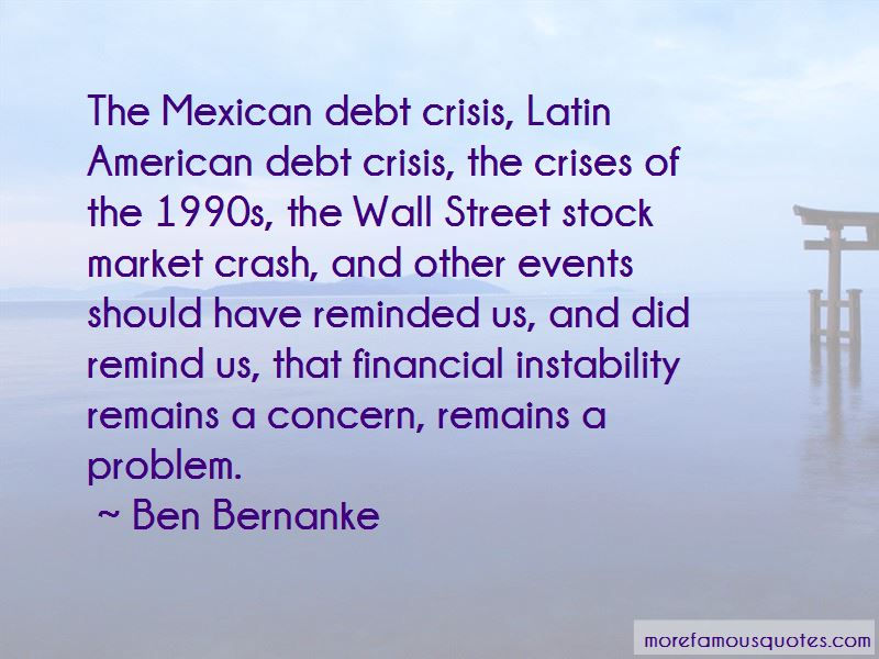 Financial Instability Quotes Pictures 3