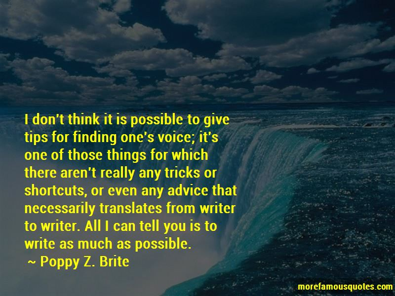Quotes About Finding One's Voice