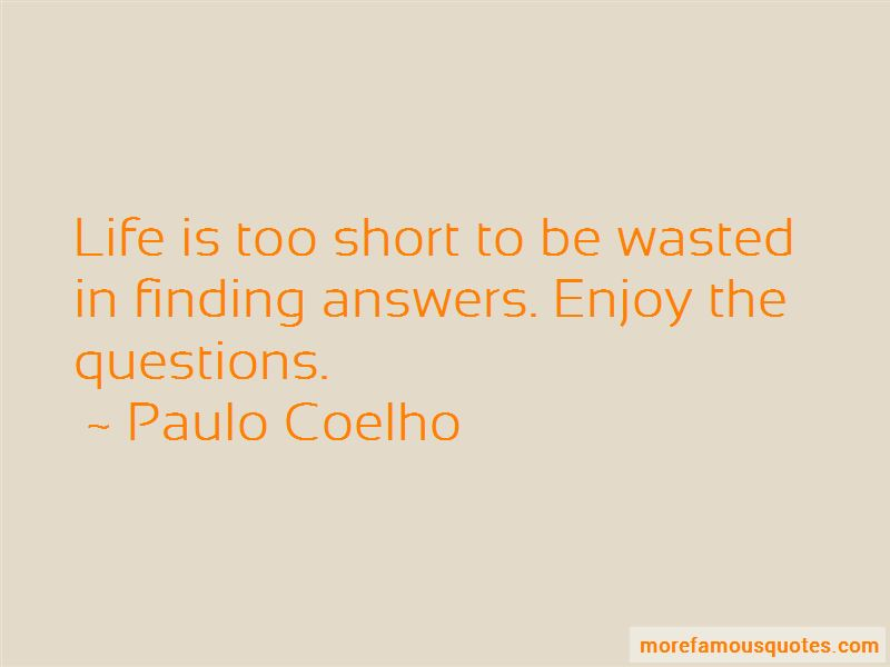 Finding The Answers In Life Quotes Pictures 2
