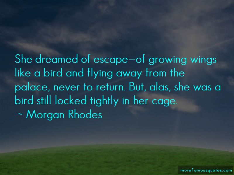 Flying Away Like A Bird Quotes Pictures 2
