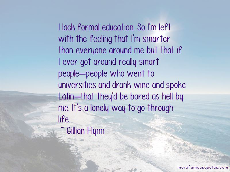 Quotes About Formal Education
