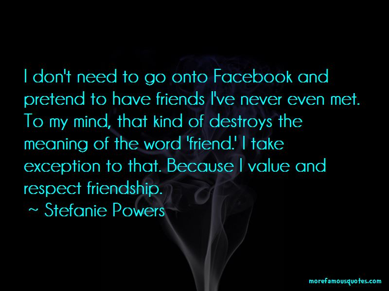 Quotes About Friendship For Facebook
