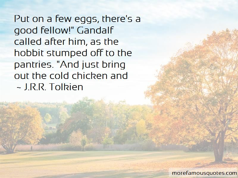 Quotes About Gandalf The Hobbit