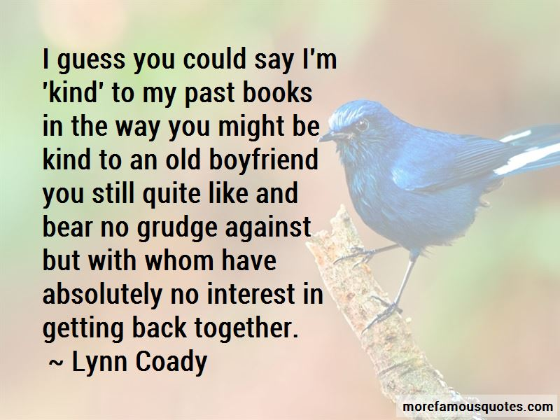 Getting Old Together Quotes