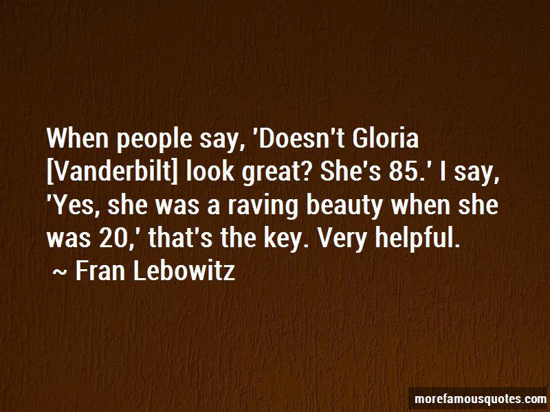 Gloria Vanderbilt Quotes Pictures 3