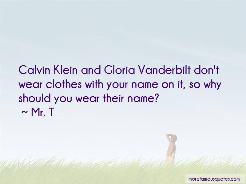 Quotes About Gloria Vanderbilt