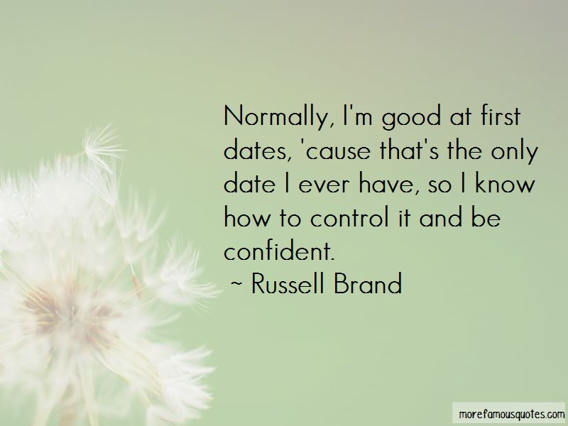 Quotes About Good Dates