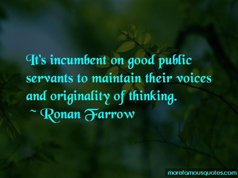 Quotes About Good Public Servants