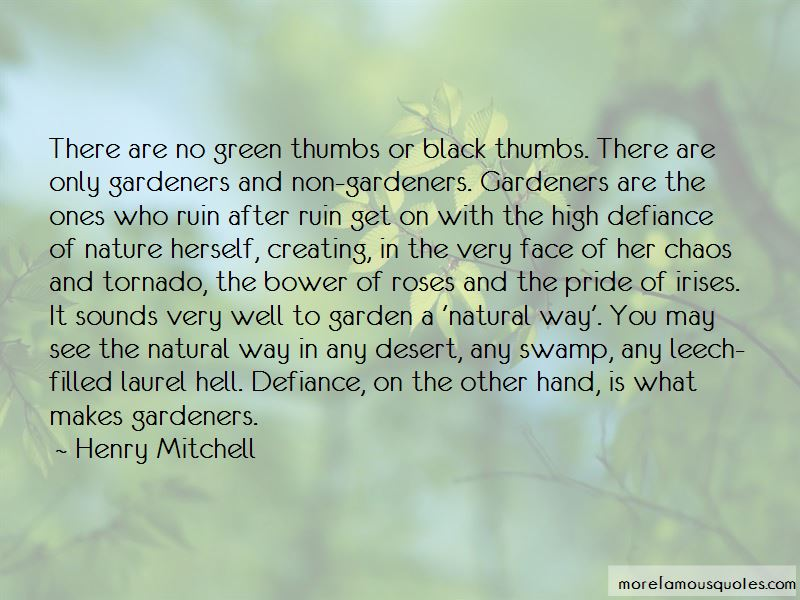 Quotes About Green Thumbs