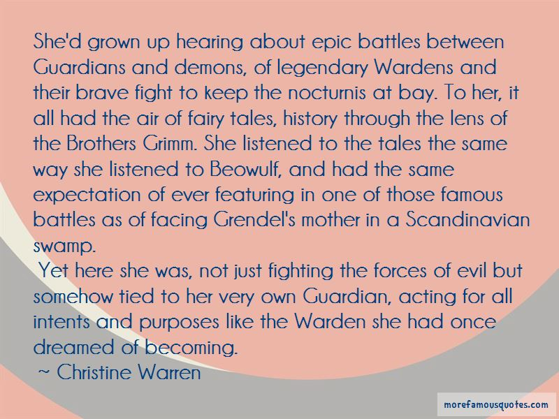 Quotes About Grendel's Mother