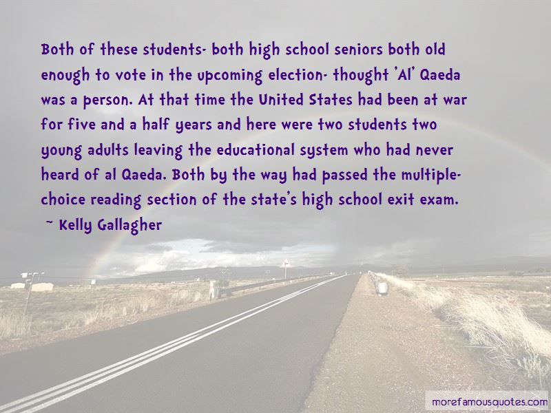 Quotes About High School Seniors Leaving: top 1 High School ...