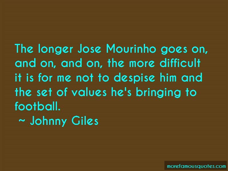 Quotes About Jose Mourinho
