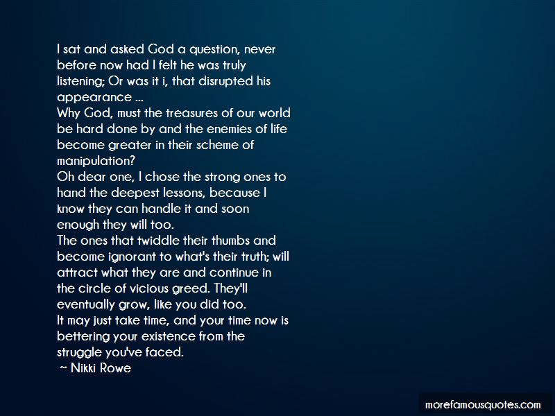 Quotes About Life Lessons And God