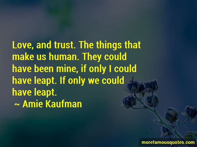 Quotes About Love And No Trust