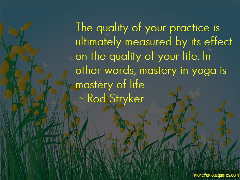Quotes About Mastery Of Life