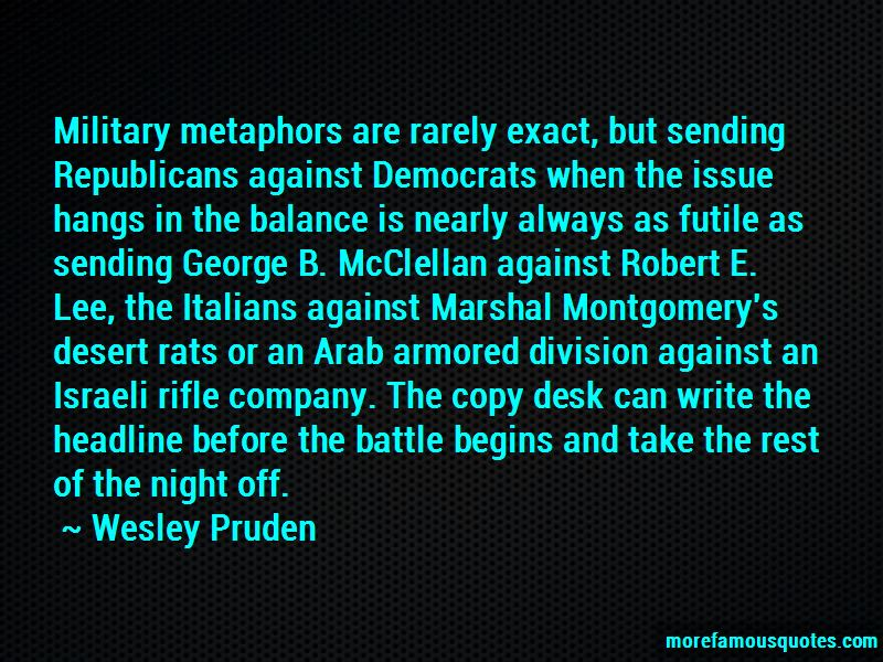 Quotes About Mcclellan