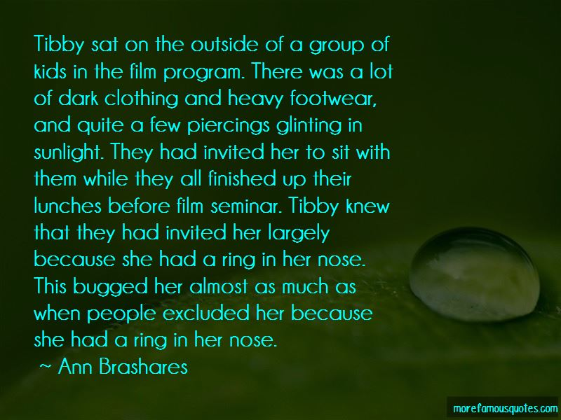 Quotes About Nose Piercings