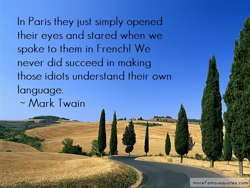 Quotes About Paris In French Language