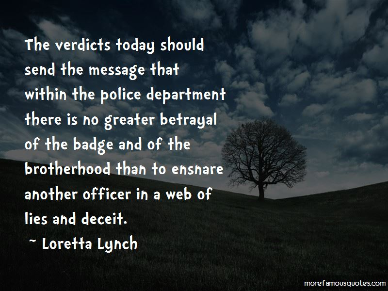 Quotes About Police Brotherhood