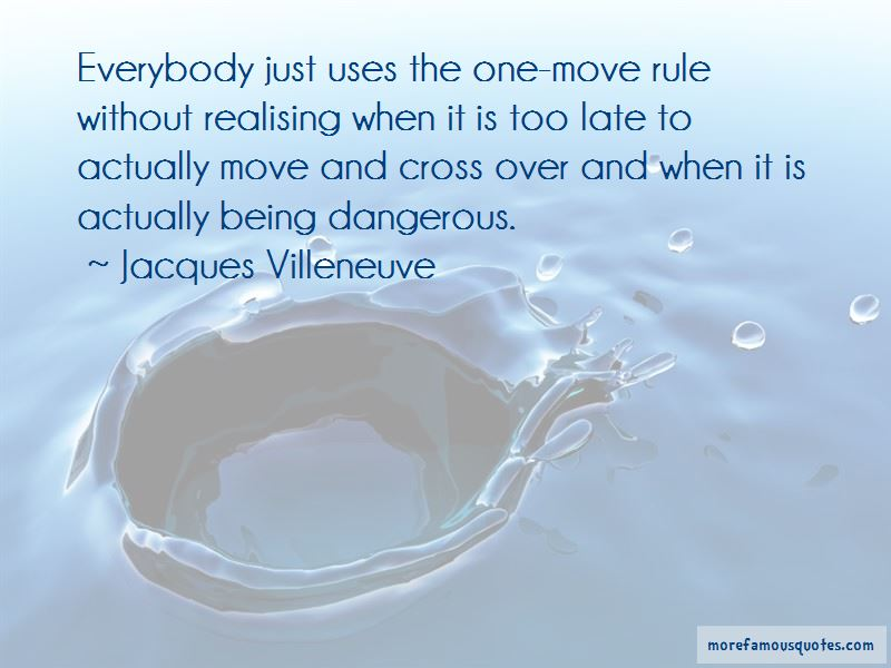 Quotes About Realising Too Late