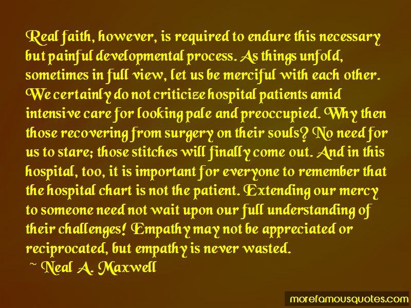 Quotes About Recovering From Surgery