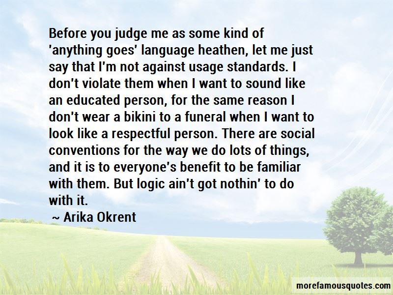 Quotes About Respectful Person
