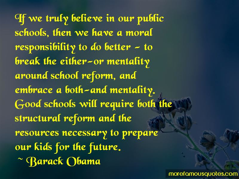Quotes About School Reform