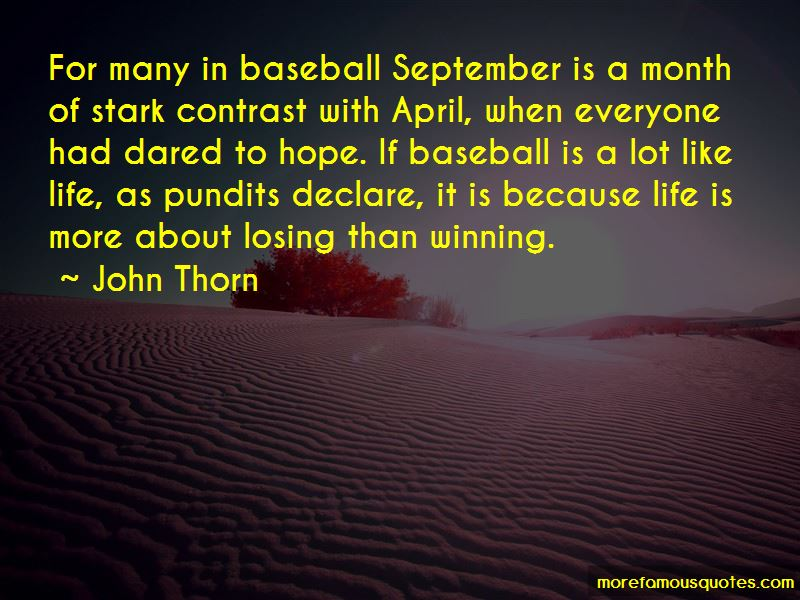 Quotes About September Month