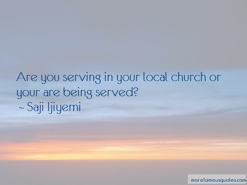 Quotes About Serving The Church