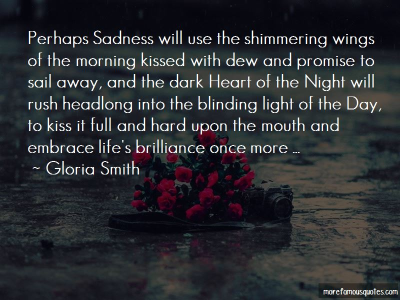 Quotes About Shimmering