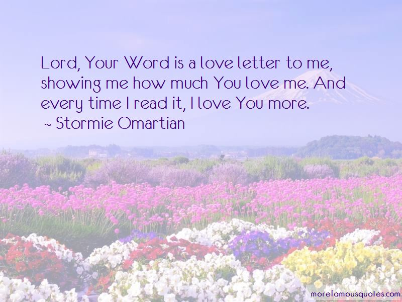 Showing Your Love Quotes Pictures 4
