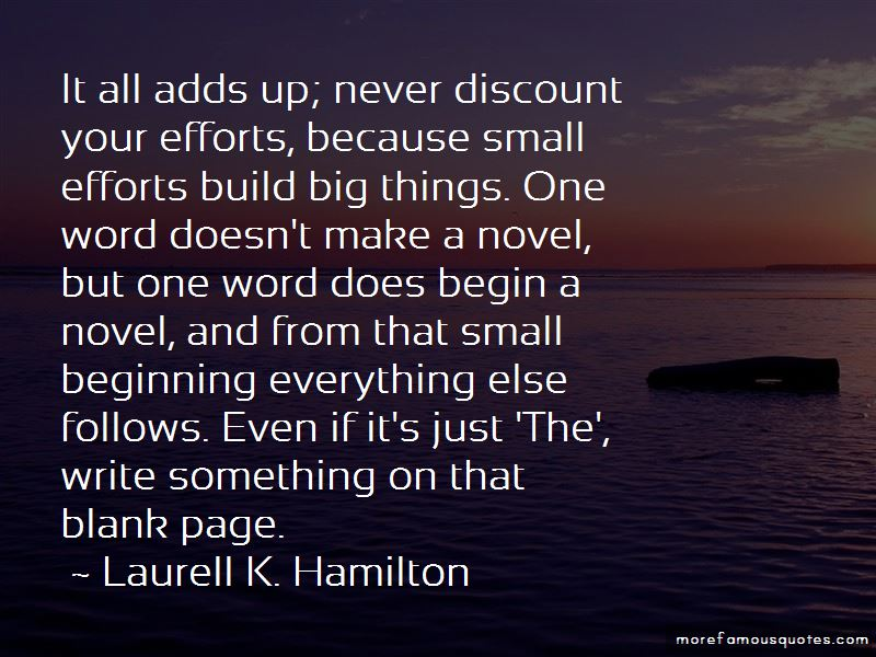 Small Efforts Quotes Pictures 2