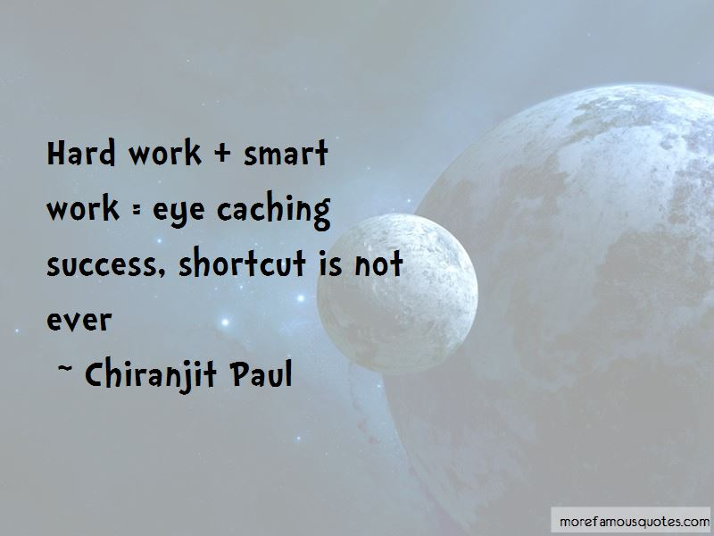 Quotes About Smart Work