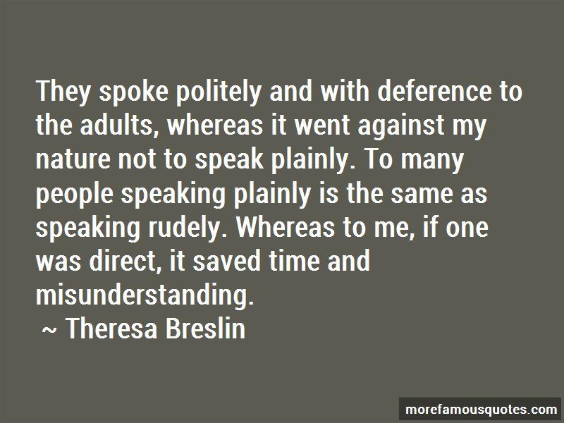 Speaking Politely Quotes Pictures 2