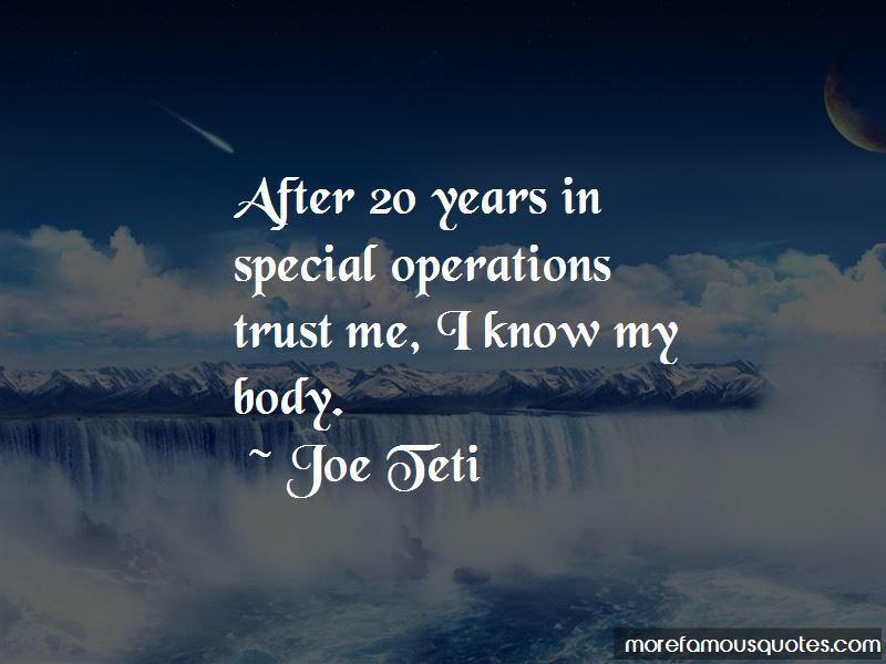 Quotes About Special Operations