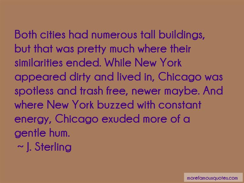 Quotes About Tall Buildings