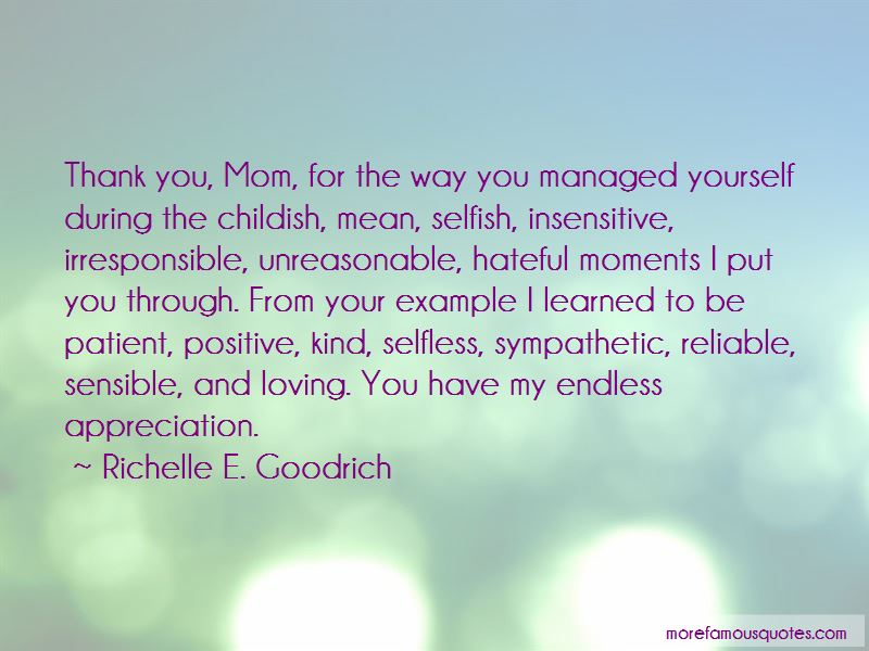 Quotes About Thank You Mom: top 30 Thank You Mom quotes from ...