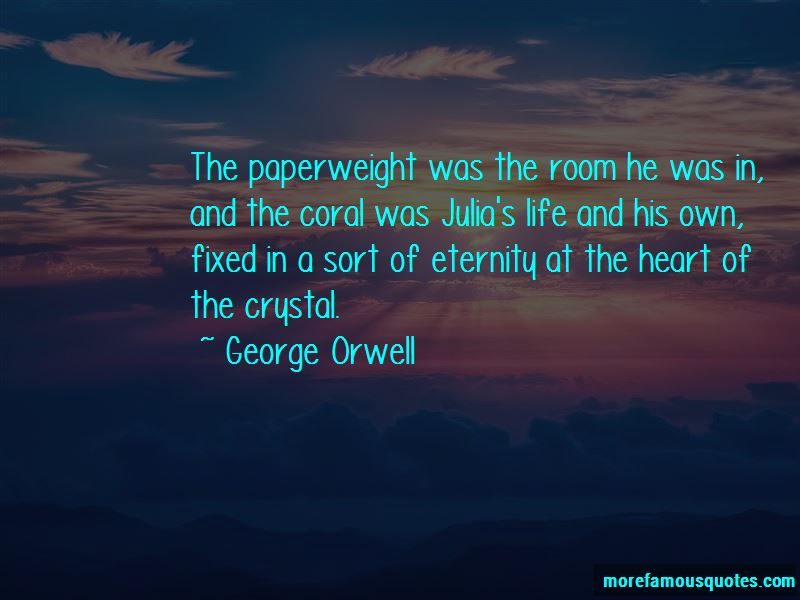 Quotes About The Coral Paperweight