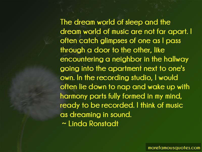 Quotes About The Dream World
