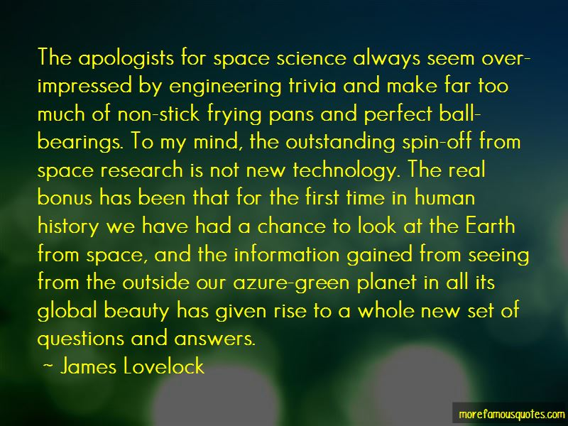 Quotes About The Earth From Space