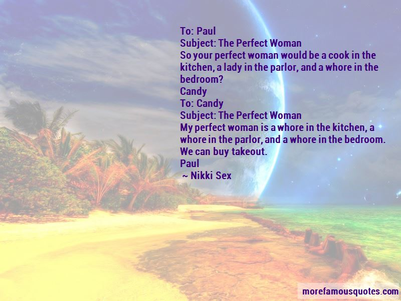 Quotes About The Perfect Woman. U201c