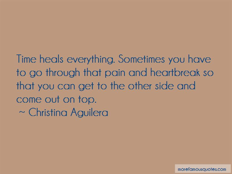 Quotes About Time Heals Everything Top 12 Time Heals Everything