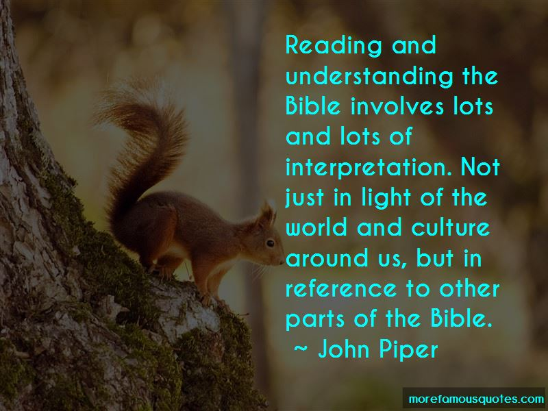 Quotes About Understanding The Bible