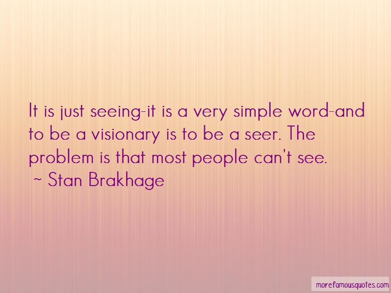 Quotes About Visionary