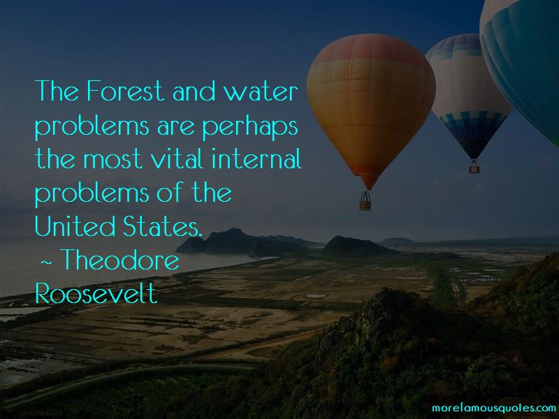 Quotes About Water Problems